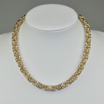 Vintage Collier & Armband gold Set