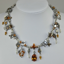 OTAZU Classic Collection Collier mit Swarovski Kristallen